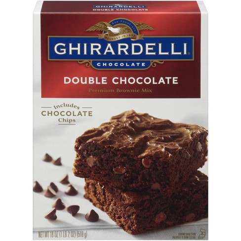 Ghirardelli Double Chocolate Chip Brownie Mix Quarantine Baking