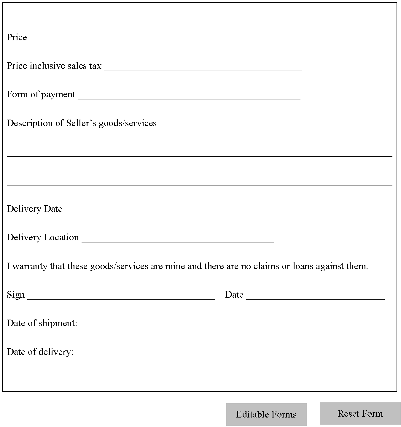 used car sale agreement template - Tier.brianhenry.co