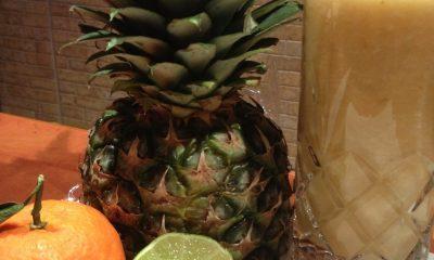 ingrediente suc de fructe cu ananas si menta