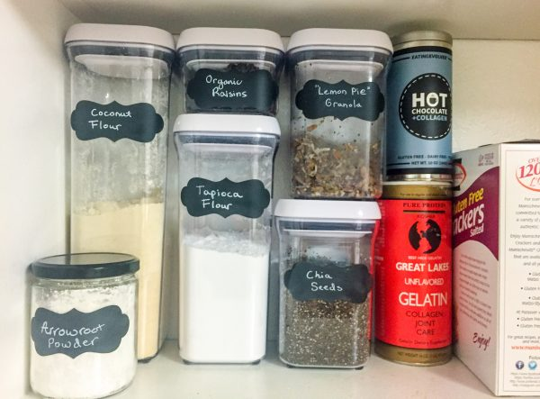 Editing Your Kitchen: Pantry Organization 101