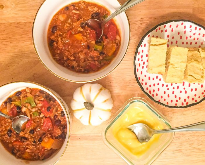 Easy Homemade Turkey Chili With Bell Peppers