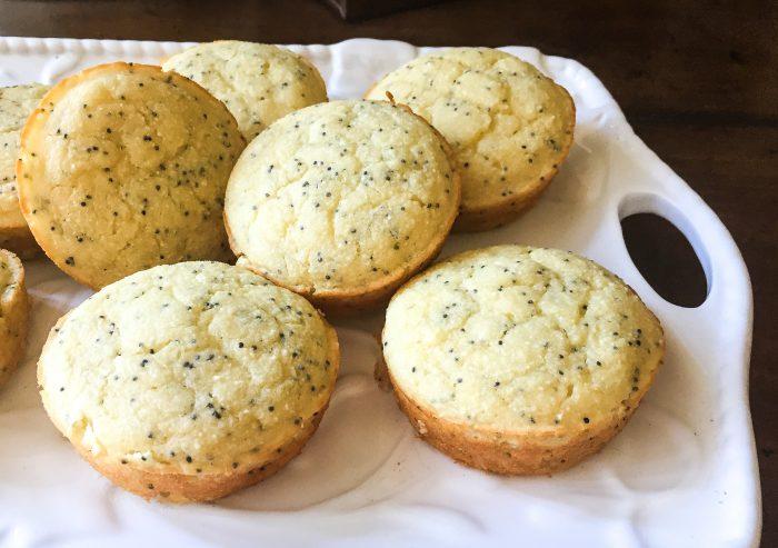 Paleo Lemon Poppy Seed Pancake Muffins