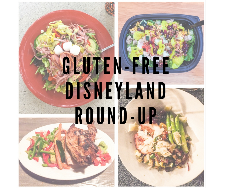 Edited Restaurants: Gluten-Free Disneyland Round-Up
