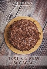 Tort cu rom si cacao