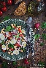 Salata cu ardei copt si naut