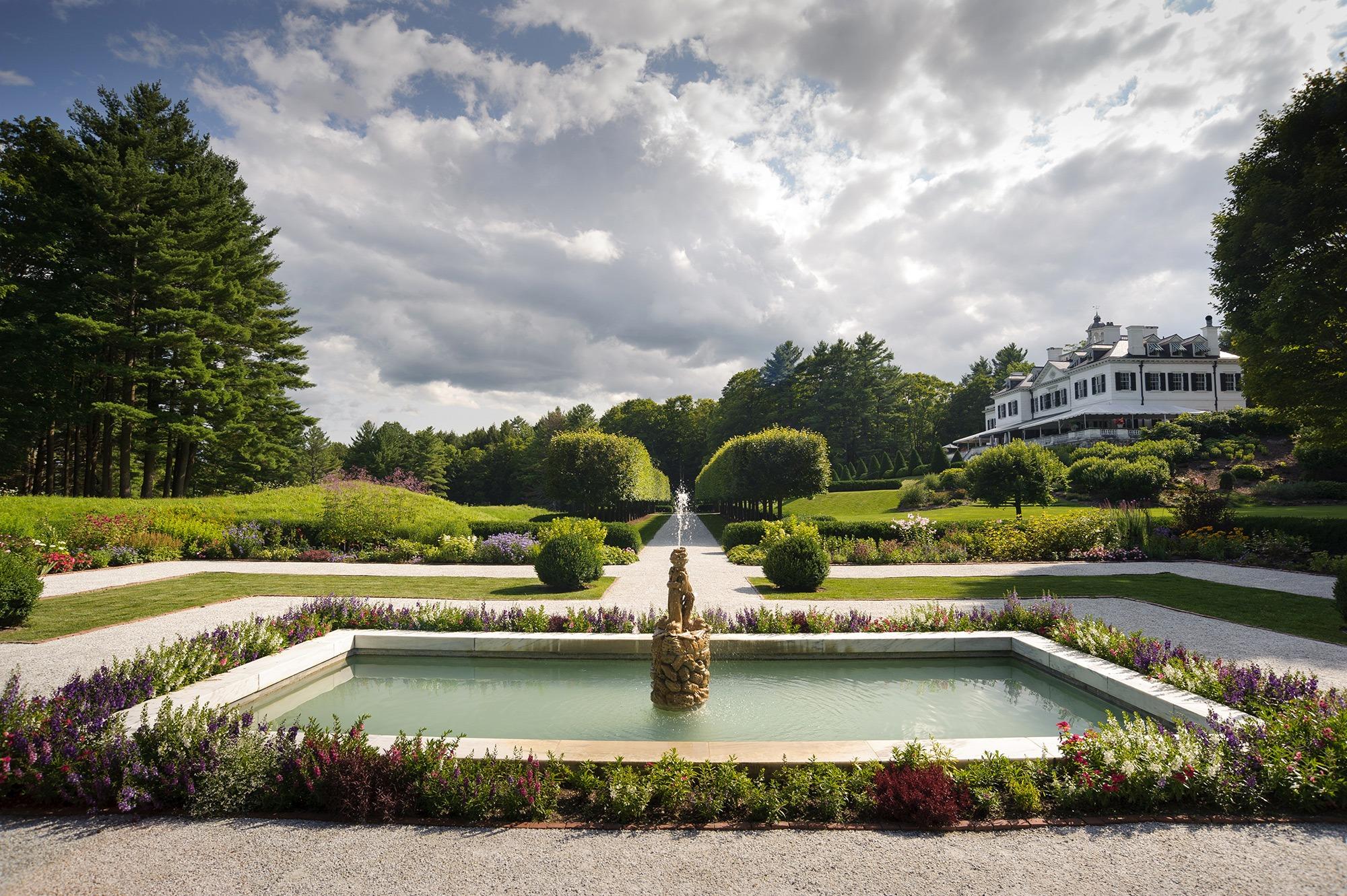 Gardens  The Mount  Edith Whartons Home