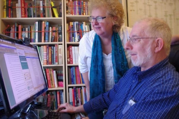 Vickie and Harvey Deneroff, Owners, Deneroff Editing and Research Services