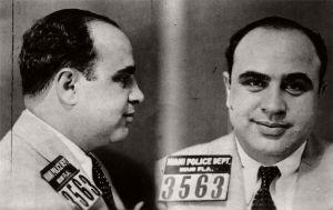 Al Capone mugshot, Miami, Florida