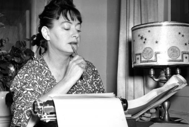 Dorothy Parker writing