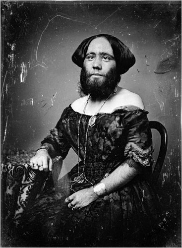 Josephine Cloffulia, The Bearded Lady Of Geneva