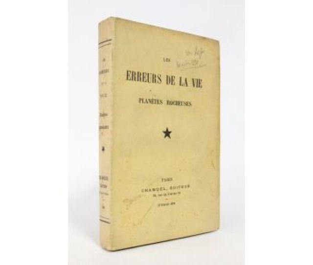 Jousselin Les Erreurs De La Vie Planetes Rocheuses First Edition Edition Originale Com