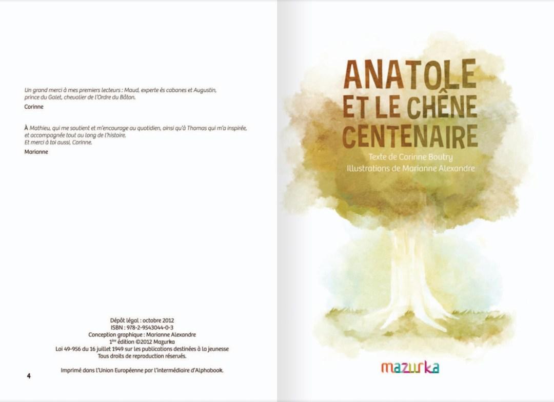 Anatole et le chêne centenaire - page 3