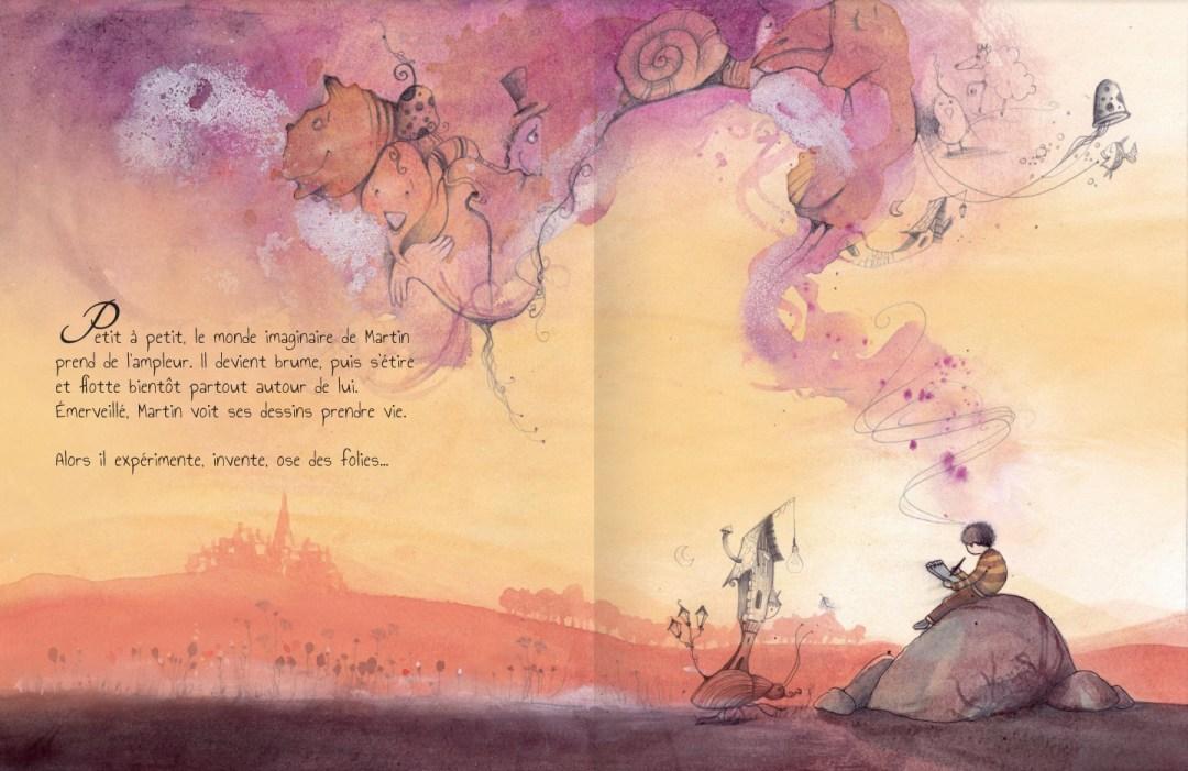 Le monde imaginaire de Martin- page 7