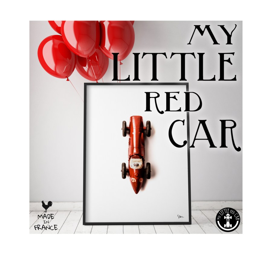 my little red car