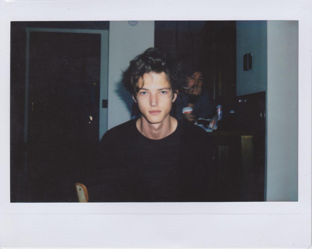 BTS Polaroids of Abel van Oeveren at VNY