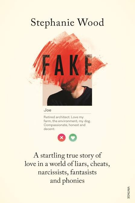 The cover of Fake by Stephanie Wood.