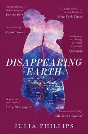 The cover of Disappearing Earth.