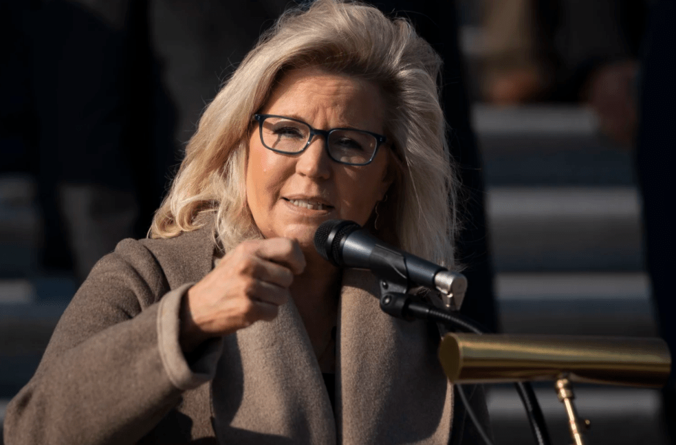 Liz Cheney is betting 'the former guy' won't be the GOP's kingmaker, or king, for very much longer