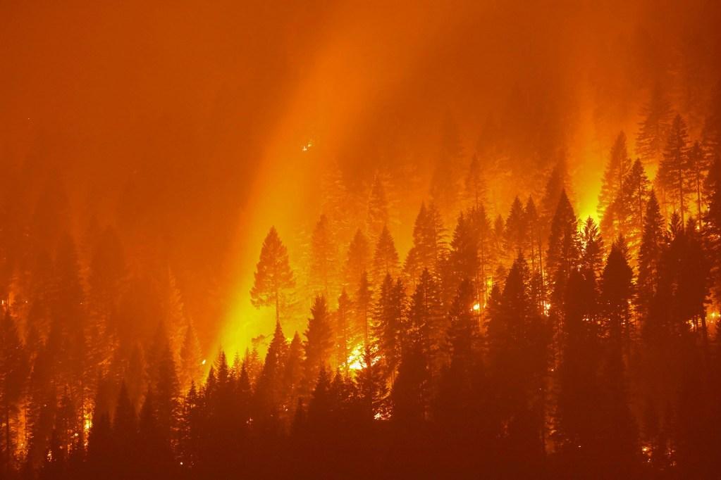 California's Dixie Fire.