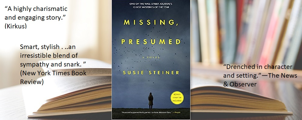 Missing, Presumed, a novel by Susie Steiner | The Editorial Department