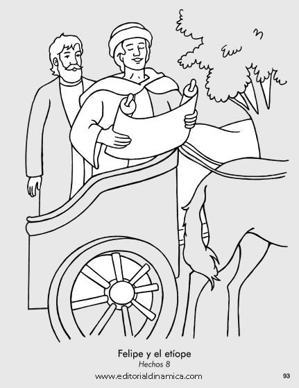 Bible Coloring Picture Of Philip Coloring Pages