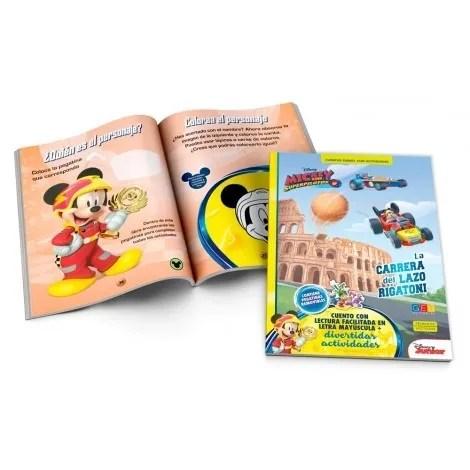 Mickey y los Superpilotos. La carrera del Lazo Rigatoni · Cuentos Disney con actividades