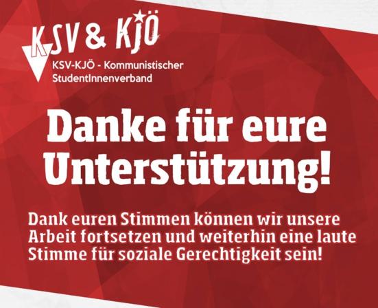 Graz : Des résultats historiques pour les étudiants communistes (KSV) aux élections étudiantes