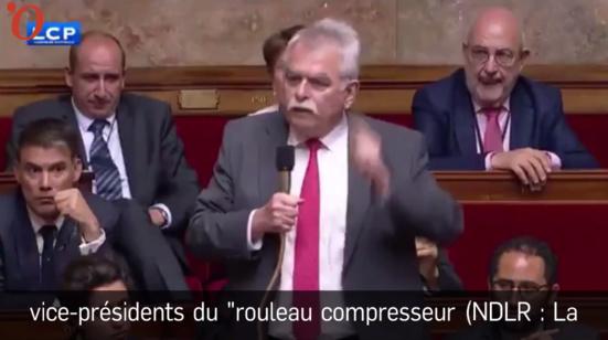 La grosse colère du député communiste André Chassaigne contre Richard Ferrand