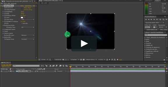 Layer settings in Adobe After Effects