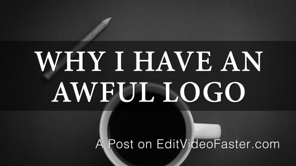 Why I have an awful logo