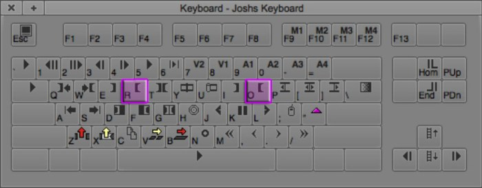 Mark Out Point Keyboard Shortcuts in Avid