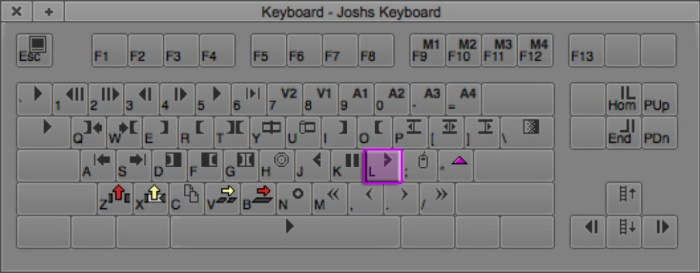 Play Forward Keyboard Shortcut in Avid