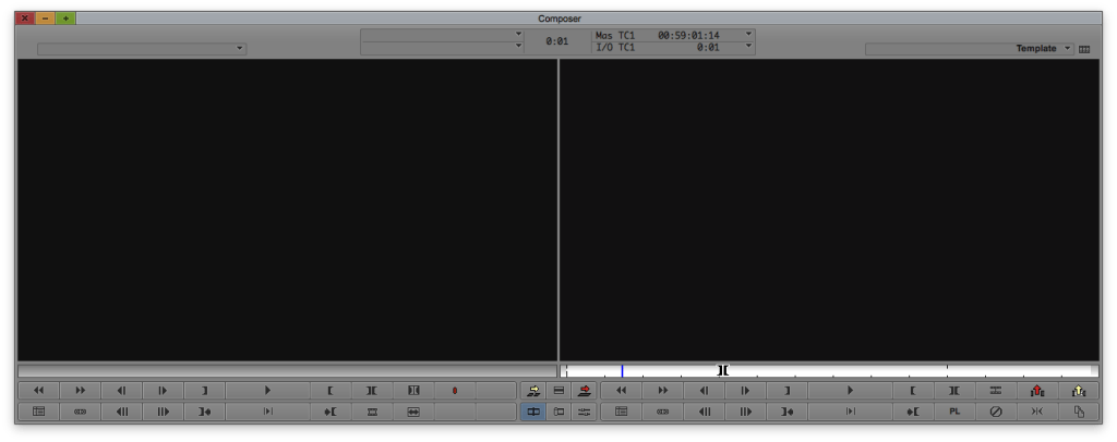 Use Esc as a keyboard shortcut to Toggle Between Source and Record Monitors in Avid
