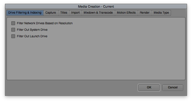 Media Creation Tool in Avid