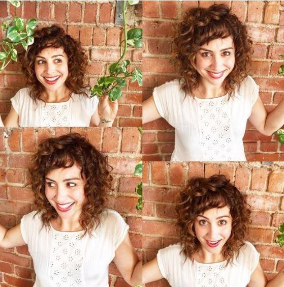curly bangs