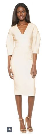 midi sleeve dress