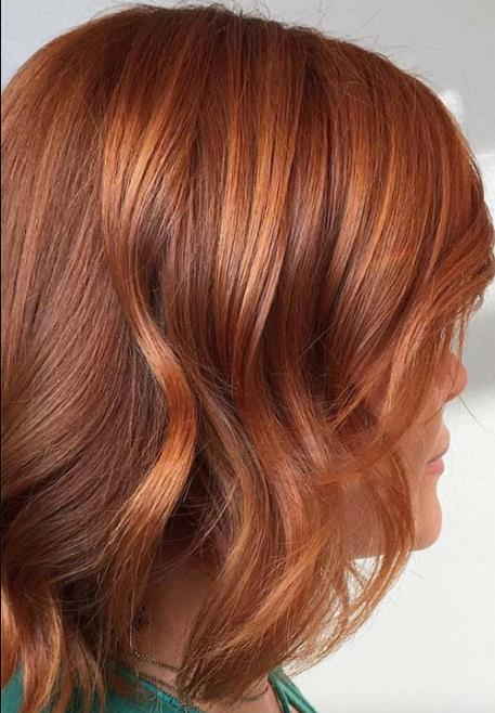 50 Αποχρώσεις του χάλκινου  Οδηγός ομορφιάς για τα χάλκινα μαλλιά ... d8208699f10