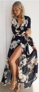 floral maxi forema