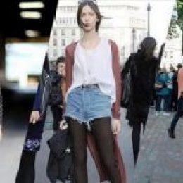 8 Στυλάτοι τρόποι για να φορέσεις το jean σορτσάκι το φθινόπωρο!
