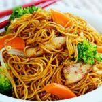 kotopoulo me noodles
