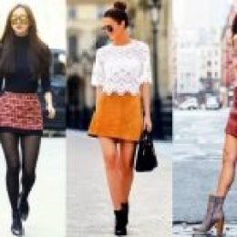 Πως να συνδυάσεις σωστά την μίνι φούστα σου τον χειμώνα!