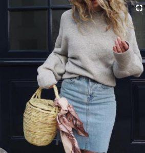 tzin fousta me pullover