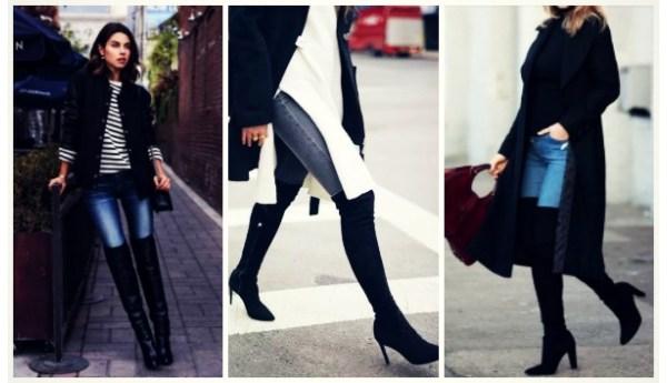 5 Τέλεια outfit για over knee μπότες!
