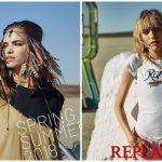 Νέα γυναικεία Replay collection άνοιξη-καλοκαίρι 2018!