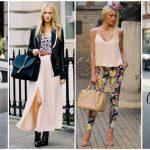 25 Μοντέρνοι συνδυασμοί ρούχων για άνοιξη και καλοκαίρι 2018!