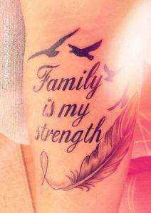 family strength tatouaz
