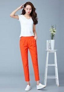 orange pants e-diva.gr