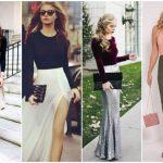 18 Ιδέες για να συνδυάσεις μακρυά φούστα με κορμάκι!