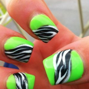 lime kai animal print sxedio nyxiwn