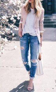 womans smart casual outfit